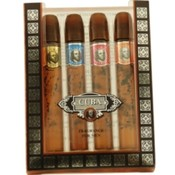 Cuba Variety Set-4 Piece Mini Variety With Cuba Gold, Red, Blue, & Orange & All Are .17 Oz By Cuba Wholesale Bulk