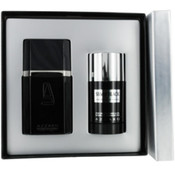 Azzaro Silver Black Set-Edt Spray 1.7 Oz & Deodorant Stick Alcohol Free 2.7 Oz By Azzaro