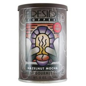 Fireside Coffee Hazelnut Mocha Decaf Instant Coffee 8 Oz Can Wholesale Bulk