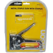 Rolson America Staple Gun w/ Staples