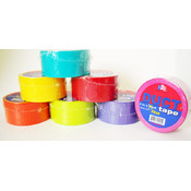 "Colored Duct Tape 2"" x 20 Yards Assorted"