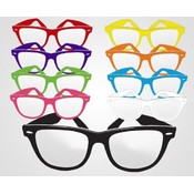 Non-Imprint Assorted Colored Frame Fashion Glasses