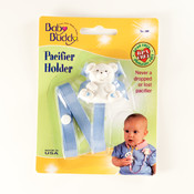 Baby Buddy Bear Pacifier Holder Blue Wholesale Bulk
