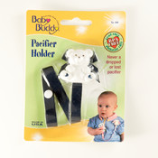 Baby Buddy Bear Pacifier Holder Navy Wholesale Bulk