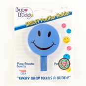 Baby Buddy Smiley Pacifier Holder Blue Wholesale Bulk