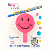 Baby Buddy Smiley Pacifier Holder Pink Wholesale Bulk