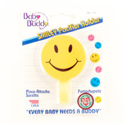 Baby Buddy Smiley Pacifier Holder Yellow Wholesale Bulk