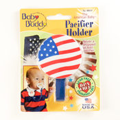 Baby Buddy American Baby Pacifier Holder US Flag Wholesale Bulk