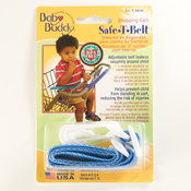 Shopping Cart Safety Belt Blue
