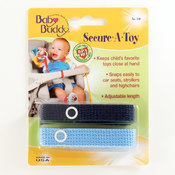Secure-A-Toy 2ct Navy-Blue