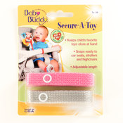 Secure-A-Toy 2ct Pink-Gray