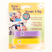 Secure-A-Toy 2ct Lilac-Yellow