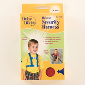 Deluxe Security Harness Red