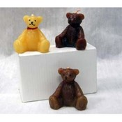 Teddy Bear Candle Set of 3