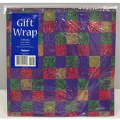 Gift Wrap- Bold Checks Wholesale Bulk