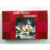 Snow Family Ornament