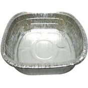 Oval Roaster Pan - Large - Foil - No label 17.3x12.7x3.2""