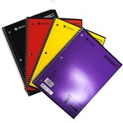 1-Subject Spiral Notebook 70ct Wide Ruled Assorted