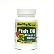 Healthy Sense Fish Oil Omega-3 1000mg