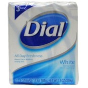Dial Bar Soap White 4.0oz