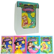Mermaids/Princess Color Book 4 Titles 96 Page PDQ