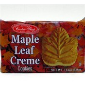 Cookie Shop Maple Leaf Creme