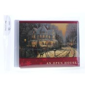 Thomas Kinkade Holiday Open House Invites PP$3.99 Wholesale Bulk
