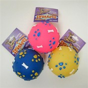 "Spunkeez Vinyl Ball 3.5"" Asst Colors"