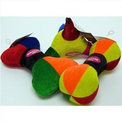 Spunkeez Plush Primary 3 Assorted Shapes 6.5""