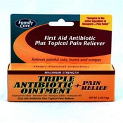 Family Care Maximum Strength Antibiotic Ointment