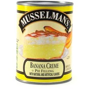 Musselman's Banana Cream Pie Filling
