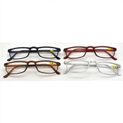 Colorful Plastic Reading Glasses Assorted Colors a