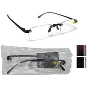 Rimless Plastic Reading Glasses Assorted Powers in 4 Colors
