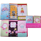 Extra Large Handmade Birthday Cards in Counter Display Wholesale Bulk