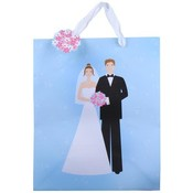 Wedding Large Gift Bags - Bride & Groom Wholesale Bulk