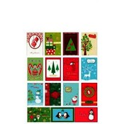 Handmade Christmas Assorted 4 Card Value Pack In C Wholesale Bulk