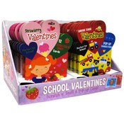 School Valentine Cards - 12 Packs Wholesale Bulk