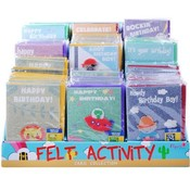 Sticker Activity Birthday Cards in Counter Display Wholesale Bulk