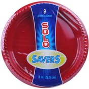 Solo Red Party Plate 9' Wholesale Bulk