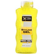Xcess Styling Gel Yellow #9 Mega Hold