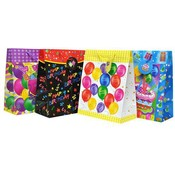 Large Birthday Glossy Gift Bag Assorted
