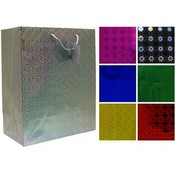 Hologram Large Gift Bag Assorted Wholesale Bulk