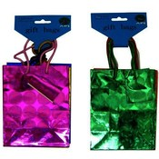 Hologram Small Gift Bag 3pk Assorted