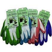 Ladies Assorted Pastel Nitrile Coated Palm Gloves