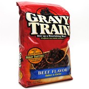 Gravy Train Dry Dog Food - Beef 4 lb Bag