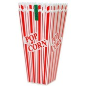 Pop Corn Holder Individual Size 3.7&quot; x 7.7&quot;