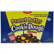 Cookie Dough Bites Peanut Butter Candy Theatre Box