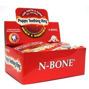 N-Bone All Natural Puppy Teething Ring for Teeth and Gums 1.2 oz Display