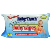 Premium Baby Touch Baby Wipes Extra Soft & Gentle