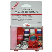 Travel Sewing Kit in Hard Plastic Case